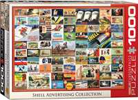 Shell Advertising Collection - 1000pc