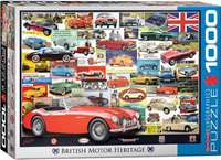 British Motor Heritage Collection - 1000pc