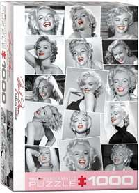 Marilyn Monroe - Red Lips - 1000pc