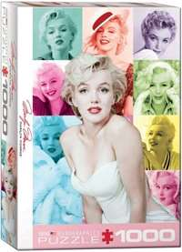 Marilyn Monroe - Colour Portrait - 1000pc