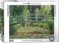 Japanese Footbridge - Claude Monet - 1000pc