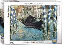 The Grand Canal of Venice - Edouard Manet