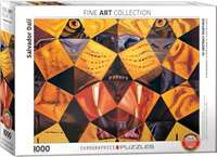 Fifty Abstract Paintings - Salvidor Dali - 1000pc