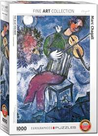 The Blue Violinist - Marc Chagall - 1000pc