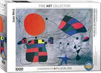 The Smile Of The Flambotant Wings - Joan Miro - 1000pc