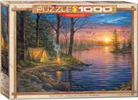 Evening Mist - Abraham Hunter - 1000pc