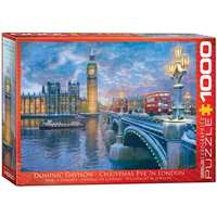 Christmas Eve in London - 1000pc