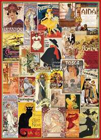 Vintage Theatre Collage - 1000pc