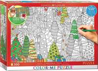 Christmas Tree - Colour-Me Puzzle - 300pc