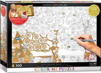 Tree of Life - Colour-Me Puzzle - 300pc