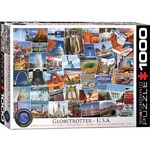 Globetrotter - USA - 1000pc