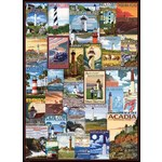 Lighthouses - Vintage Posters - 1000pc