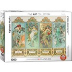 Alphonse Mucha - The Four Seasons - 1000pc