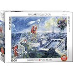 Marc Chagall - View of Paris - 1000pc