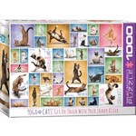 Yoga Cats - 1000 pieces