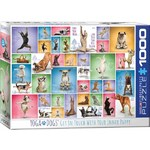 Yoga Dogs - 1000pc