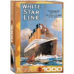 Titanic - White Star Line - 1000pc