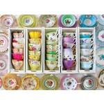 Colourful Teacups - 1000pc