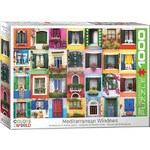 Mediterranean Windows - 1000pc