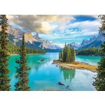 Maligne Lake - Alberta - 1000pc
