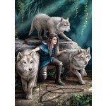 Wolf Family - Anne Stokes - 1000pc