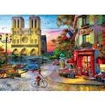 Notre Dame Sunset - 1000pc