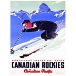 Canadian Pacific - Lake Louise Ski Areas - 1000pc