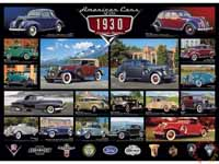 American Cars - Cruisin Classics - 1930s - 1000pc