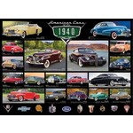 American Cars - Cruisin Classics - 1940s - 1000pc