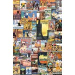 Vintage Posters - Travel Around The World - 1000pc