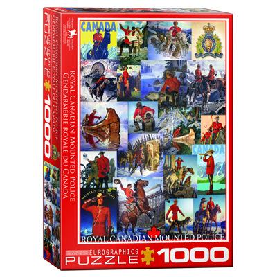 Royal Canadian Mounted Police - 1000pc