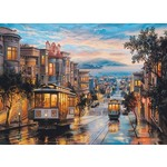 San Francisco - Cable Car Heaven - 1000pc