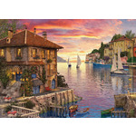 The Mediterranean Harbour - 1000pc