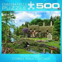Cobble Walk Cottage - 1000pc Spacesaver Box