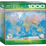 Map of the World - 1000pc Spacesaver Box