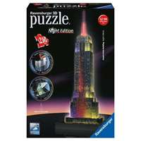 Empire State Night Edition - 3D Puzzle Building