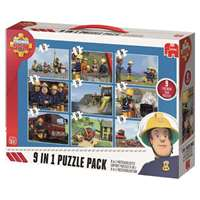 Fireman Sam 9 in 1 Puzzle Pack