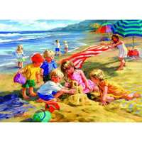 Fun in the Sun - Corinne Hartley Extra Large Piece