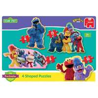 Furchester - 4 in 1 Shaped Puzzles
