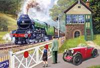 Back on Track Flying Scotsman - 500pc