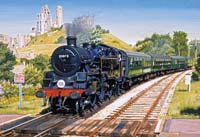 Corfe Castle Crossing - 500pc
