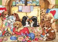 Puppies Will Be Puppies - 500 Piece XL