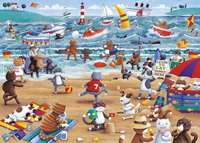 Cats On Holiday - 500 Piece XL