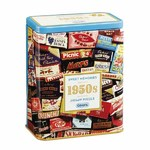 1950s Sweet Memories Gift Tin - 500pc