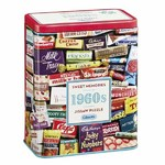 1960s Sweet Memories Gift Tin - 500pc