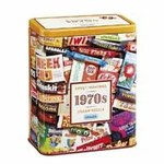 1970s Sweet Memories Gift Tin - 500pc