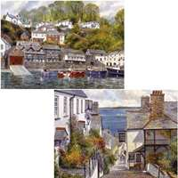 clovelly - 2 x 1000 piece