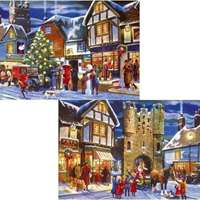 christmas collection - 2 x 500 piece