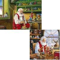 santas workshop - 2 x 500 piece