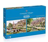 Cotswold Villagers - 2 x 1000 Piece